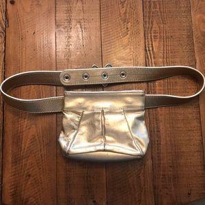 Handbags - Gold Belt Bag